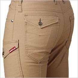 [在庫限り/返品交換不可]バートル 542 ストレッチカーゴパンツ(男女兼用) ピスフラップポケット