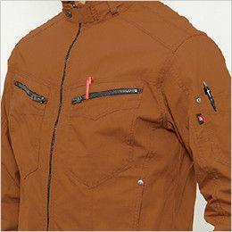 バートル 5511 [春夏用]綿100%リップクロスジャケット(男女兼用) ペンポケット