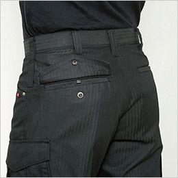 バートル 5512HB ヘリンボーンカーゴパンツ 裾上げNG(男女兼用) サイズチップ・ピスフラップ