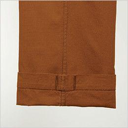 バートル 5519 [春夏用]綿100%リップクロスレディースカーゴパンツ 裾上げNG(女性用) しぼりひも通し穴