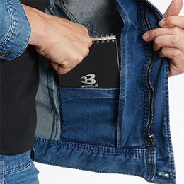 バートル 591D [春夏用]ストレッチ デニムジャケット 内ポケット
