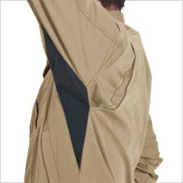 バートル 6091 [秋冬用]制電ソフトツイルジャケット(男女兼用) アームノーフォーク