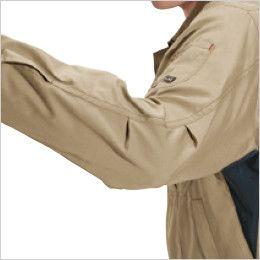 バートル 6091 [秋冬用]制電ソフトツイルジャケット(男女兼用)  アームタック