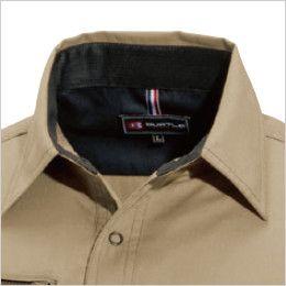 バートル 6103 [春夏用]制電T/Cライトチノ長袖シャツ(男女兼用) 吸汗ニット