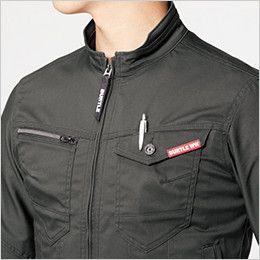 バートル 661 [秋冬用]T/Cストレッチツイルジャケット(男女兼用) 胸ペンさし