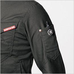 バートル 661 [秋冬用]T/Cストレッチツイルジャケット(男女兼用) 袖ペンポケット