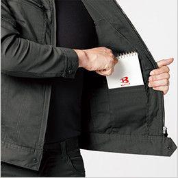 バートル 661 [秋冬用]T/Cストレッチツイルジャケット(男女兼用) 内ポケット