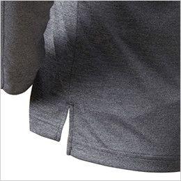 バートル 665 [通年]ドライメッシュ長袖ポロシャツ(男女兼用)  スリット