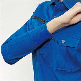 バートル 705 [通年]トリコット長袖ワークシャツ(男女兼用) 半リブ仕様
