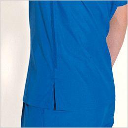 バートル 7065 [春夏用]ソフトトロピカル半袖シャツ(男女兼用) スリット