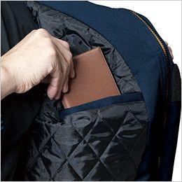 バートル 7110 [秋冬用]パイピング防寒ブルゾン(男女兼用) 内ポケット