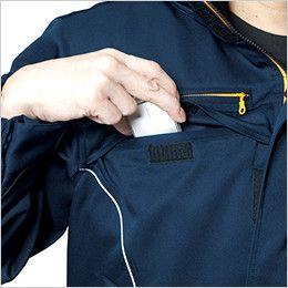 バートル 7111 [秋冬用]パイピング防寒コート(男女兼用) Phone収納ポケット