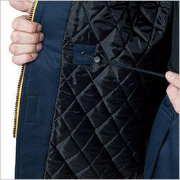 バートル 7111 [秋冬用]パイピング防寒コート(男女兼用) コードスピンドル付