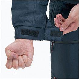 バートル 7210 [秋冬用]サーモトロン防寒ブルゾン(大型フード付)(男女兼用) カフスアジャスター