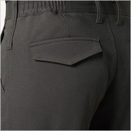 バートル 7303 [秋冬用]2WAYストレッチツイル パンツ(JIS T8118適合)(男女兼用) ピスフラップ(ドットボタンなし)、サイズチップ