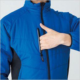 バートル 7310 [秋冬用]背面マイクロフリース防寒ジャケット(男女兼用) ファスナーポケット(リフレクターデザイン)