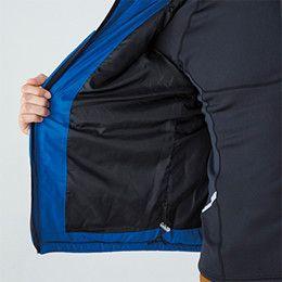 バートル 7310 [秋冬用]背面マイクロフリース防寒ジャケット(男女兼用) ドローコード