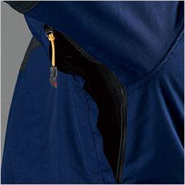 バートル 7610 [秋冬用]防水防寒ジャケット(男女兼用) ベンチレーション、ファスナー付き