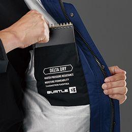 バートル 7610 [秋冬用]防水防寒ジャケット(男女兼用) 内ポケット