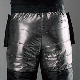 バートル 7612 [秋冬用]防水防寒パンツ(男女兼用) アルミフィルムラミネート加工