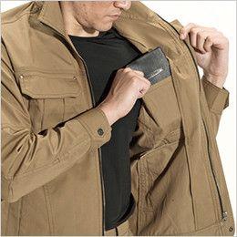 バートル 8031 チノクロスジャケット(綿100%)(男女兼用) 内ポケット