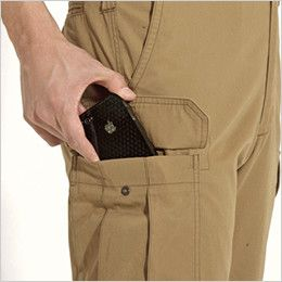 バートル 8032 チノクロスカーゴパンツ(綿100%)(男女兼用) Phone収納ポケット