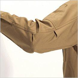 バートル 8035 チノクロス長袖シャツ(綿100%)(男女兼用) アームタック