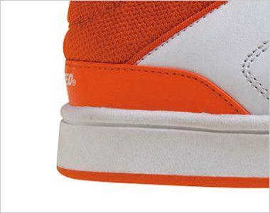バートル 804 セーフティフットウェア 作業靴 樹脂先芯(男女兼用) クッション性の高い特殊ラバー採用で快適な一歩をサポート