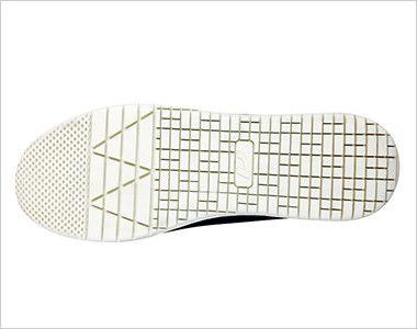 バートル 809 セーフティーフットウェア 作業靴 スチール先芯(男女兼用) クッション性の高い特殊ラバー採用で快適な一歩をサポート