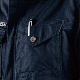 バートル 8101 綿100%ワーカーズツイル長袖ジャケット(男女兼用) ペンさし