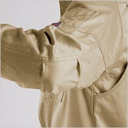 バートル 8105 綿100%ワーカーズツイル長袖シャツ(男女兼用) アームタック