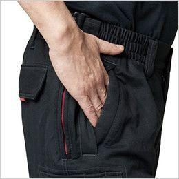 バートル 8112 チノクロス防寒パンツ(綿100%)(男女兼用) 逆玉ポケット