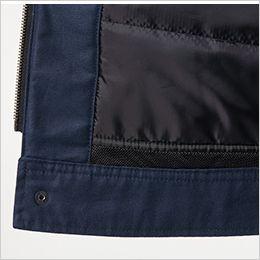 バートル 8210 [秋冬用]ヒータージャケット(大型フード付き)(男女兼用) 丸洗いウォッシャブル(水抜き)仕様(メッシュ:裾)