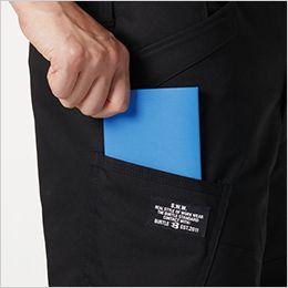 バートル 8212 [秋冬用]防寒カーゴパンツ(男女兼用) ラジポケ ※出し入れ便利なポケットです。