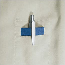 バートル 9023 制電ストレッチ長袖シャツ(男女兼用) ペンポケット