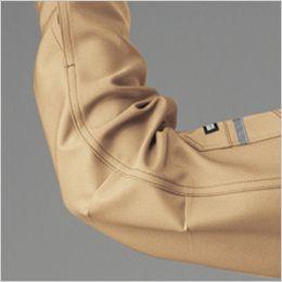 バートル 9071R [秋冬用]ストレッチツイル長袖ジャケット(JIS T8118適合)(男女兼用) アームタックで動かしやすい