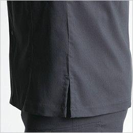 バートル 9095 [春夏用]ストレッチ長袖シャツ(JIS T8118適合)(男女兼用) 脇スリット