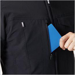バートル 9501 [秋冬用]4WAYストレッチ ジャケット(JIS T8118適合)(男女兼用) レベルブック・Phone収納ファスナーポケット