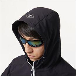 バートル 9505 [秋冬用]4WAYストレッチ パーカージャケット(JIS T8118適合)(男女兼用) 大型フードスピンドル付き