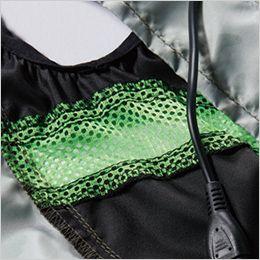 空調服 バートル AC1034 [春夏用]エアークラフト ベスト(男女兼用) ポリエステル100% 通気性のあるメッシュ