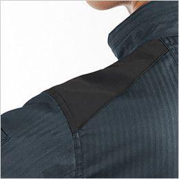 バートル AC1051 エアークラフト 制電 長袖ブルゾン(男女兼用) 肩コーデュラ補強布使用