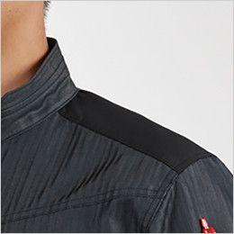 バートル AC1056SET-D エアークラフトセット 制電 半袖ブルゾン(男女兼用) 肩コーデュラ補強布使用