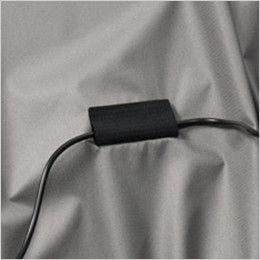 空調服 バートル AC1076SET-B エアークラフト 半袖ブルゾン(男女兼用) コードストッパー(マジックテープ)