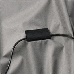 空調服 バートル AC1076SET-D エアークラフトセット 半袖ブルゾン(男女兼用) コードストッパー(マジックテープ)