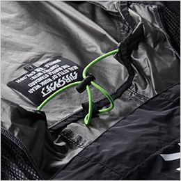 空調服 バートル AC1086 [春夏用]エアークラフト パーカー半袖(男女兼用) ナイロン100% 調節式エアダクト