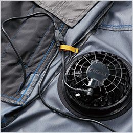 空調服 バートル AC1094SET-D エアークラフトセット パーカーベスト(男女兼用) コードホール、コードループ