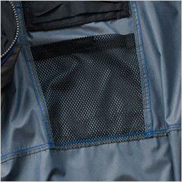 空調服 バートル AC1096 [春夏用]エアークラフト パーカー半袖ジャケット(男女兼用) メッシュポケット