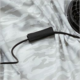 バートル AC1111PSET-B エアークラフト 迷彩 長袖ジャケット(男女兼用) ポリ100%  コードストッパー(マジックテープ止め)