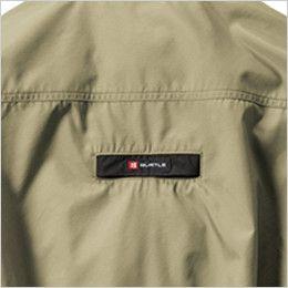 空調服 バートル AC1121SET-B エアークラフト ハーネス対応 長袖ブルゾン(男女兼用) ポリ100% フルハーネス ランヤード取付口