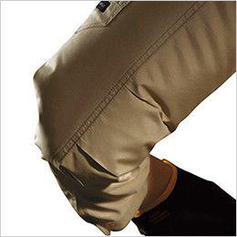 空調服 バートル AC1121SET-B エアークラフト ハーネス対応 長袖ブルゾン(男女兼用) ポリ100% 袖アームタック
